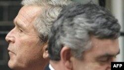 Джордж Буш и Гордон Браун опровергли слухи об имеющихся расхождениях в политике двух стран-союзников