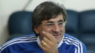 Президент Федерации футбола Грузии Звиад Сичинава. фото: garpastum.com