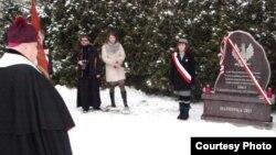 У Гайнаўцы на Падляшшы адкрылі помнік паўстанцам Студзеньскага паўстаньня 1863-1864 гг.