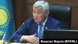 Бердібек Сапарбаев, Ақтөбе облысының әкімі. 8 тамыз 2017 жыл.