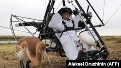 Путин Владимир дельтапланна тIехь, 09. 2012 шо.