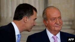 Felipe dhe Juan Carlos - foto arkivi