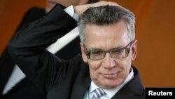 Ministri i Brendshëm i Gjermanisë, Thomas de Maiziere