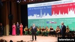 Татарстан сәнгать осталары концертында Миңнеханов чыгыш ясый