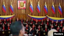 Жогорку соттун Николас Мадуро катышкан жыйыны. 24-январь, 2019-жыл.