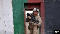 A U.S.Marines in the southern Helmand province. (file photo)