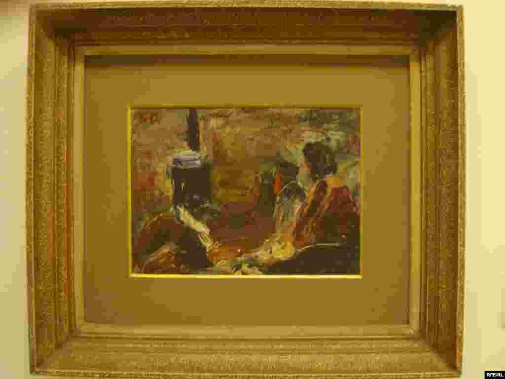 ¨Kraj peći¨ iz 1930. prvi je rad Voje Dimitrijevića, kojim se upisuje na tadašnju Visoku umjetničku školu u Beogradu. Foto: Zvjezdan Živković