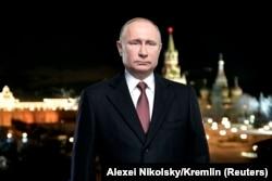 Новогоднее обращение к стране Владимира Путина 31 декабря 2017 года