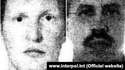 Vladimir Popov i Eduard Šišmakov, slika sa Interpolove potjernice