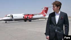 Ирандық бизнесмен Бабак Занжани.