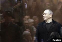 Михаил Ходорковский в суде