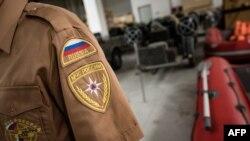 Pamje e një pjese të qendrës humanitare ruse në Nish të Serbisë