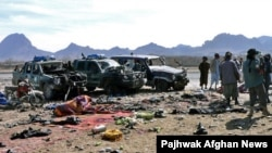 Жертвы террористических атак в Афганистане.