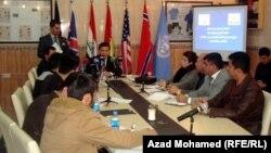 مؤتمر صحفي لمديرية ازالة الالغام في السليمانية