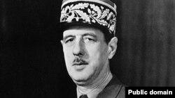 Шарль де Голль, президент Франции в 1958 - 1969 годы.