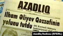 """""""Azadlıq"""" qəzeti"""