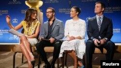 نامزدهای هفتاد و دومین جایزه گلدن گلوب روز چهارشنبه در بورلی هیلز لسآنجلس معرفی شدند.