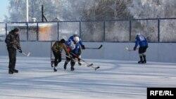 Урмай авылында ачылган хоккей тартмасы