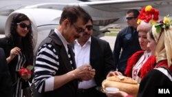 Индискиот бизнисмен Субрата Рој го посети Охрид.