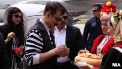 Архивска фотографија: Индискиот бизнисмен Субрата Рој го посети Охрид на 10 јули 2013 година.