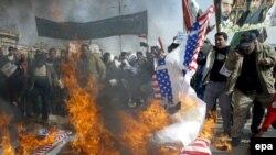 Заидини бошотууну талап кылып, Иракта миңдеген адамдар демонстрацияга чыгышты