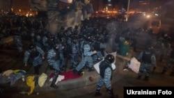 Ուկրաինա - «Բերկուտ»-ը ցրում է Եվրոմայդանը, 30-ը նոյեմբերի, 2013թ․