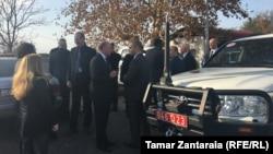 Встреча прошла в конструктивной и деловой обстановке, говорится в пресс-релизе Миссии наблюдателей ЕС
