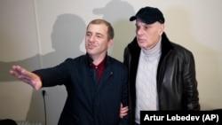 Адгур Ардзинба и Аслан Бжания, 22 марта 2020 года