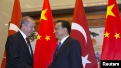 Эрдоган с премьер-министром Китая