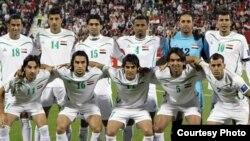 المنتخب العراقي في الدوحة