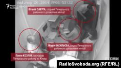 Екс-прокурор Павло Козлов та колишні слідчі в магазині