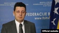 Aljoša Čampara, ministar unutrašnjih poslova Federacije BiH