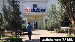Офисавиаперевозчика «FlyDubai» в Ашхабаде, июнь, 2019
