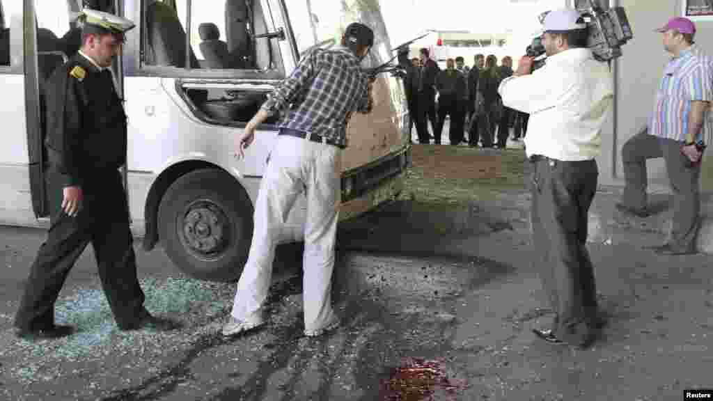 Теракт в Дамаске.