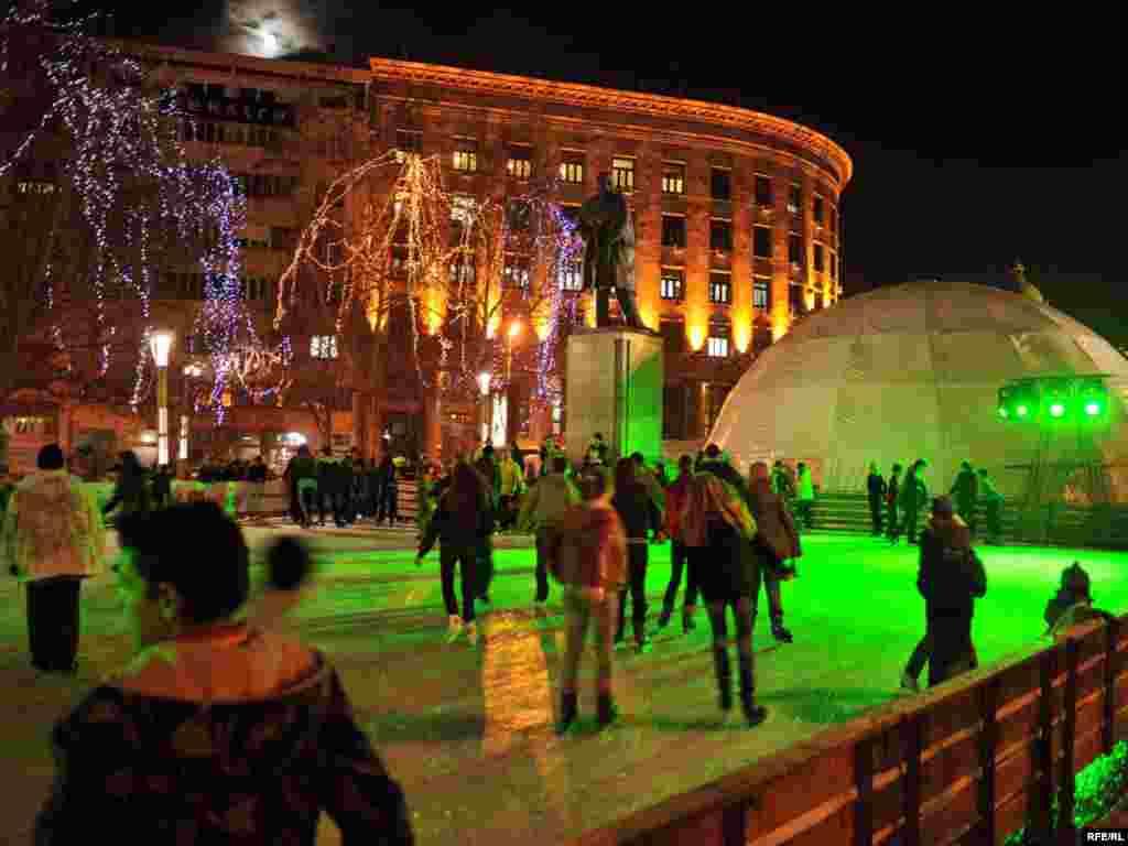 FOTO: VESNA ANĐIĆ - Atmosfera uoči Nove 2010. godine u Beogradu