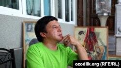 Рассом Обид Асомов ижодидан суратлар