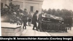 Funeraliile unui prizonier român, Krefeld