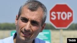Голова Спостережної прикордонної місії ОБСЄ Поль Пікар на контрольному пункті «Гуково», архівне фото