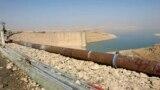 جانب من سد الموصل