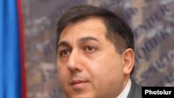 Armenia -- Human rights ombudsman Armen Harutiunian.