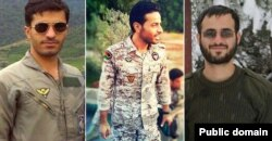 از راست سجاد طاهرنیا، محمد ظهیری، و روح الله عمادی - عکس از سایت مشرق