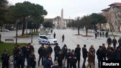 Площадь Султанахмет в Стамбуле, где 12 января был совершен взрыв