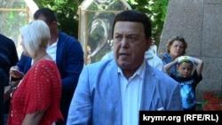 Российский артист Иосиф Кобзон в Крыму. 24 июля 2015 года.