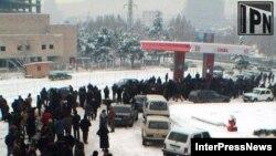 Нынешнюю зиму грузины будут помнить долго