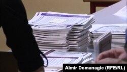 Glasački listići za izbore u BiH, arhivska fotografija