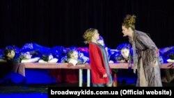 Юні актори з київської студії «Бродвей Kids» ставлять справжні англомовні мюзикли на великій сцені