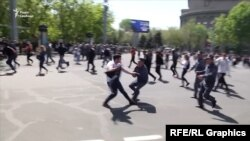 Затримання в Єревані, 18 квітня 2018 року