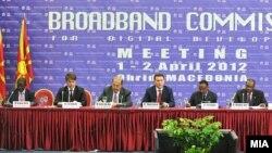 Меѓународна конференција за широкопојасен интернет и дигитален развој во Охрид.