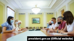 Заступниця керівника Офісу президента Юлія Ковалів зустрілася з шахтарями