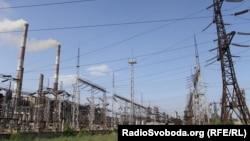 Луганська ТЕС у місті Щастя поблизу Луганська